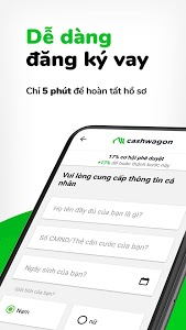 screenshot of Cashwagon – Vay Tiền Online version 1.55.0