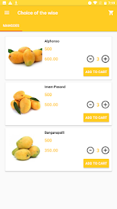 screenshot of Choice of the wise-Mangoes version 1.2