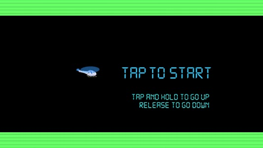 screenshot of Classic Helicopter Game Mobile version 1.1