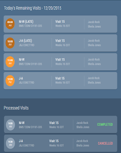screenshot of Clinical Research IO version 0.65
