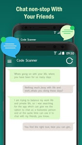 screenshot of Whatscan, Whats Web,Clonapp Messenger Code Scanner version 1.2.3