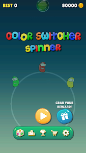 screenshot of Color Switcher Spinner version 1.4