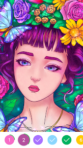 screenshot of Coloring Book - Color by Number & Paint by Number version 1.1.6