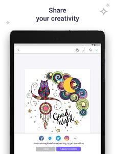 screenshot of Coloring Book for Me & Mandala version Varies with device