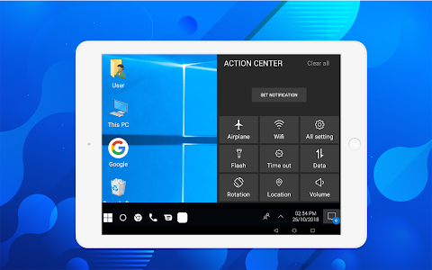 screenshot of Computer launcher PRO 2019 for Win 10 themes version 7.6