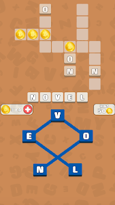 screenshot of Connect And Cross - Crossword version 1.5