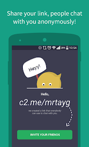 screenshot of Connected2.me Chat Anonymously version 3.11.0