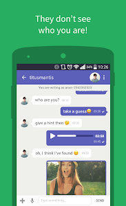 screenshot of Connected2.me Chat Anonymously version 3.17