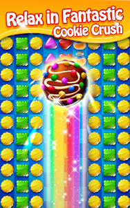 screenshot of Cookie Mania - Sweet Match 3 Puzzle version 8.3.3935