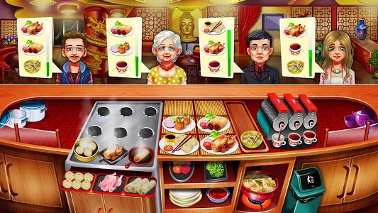 screenshot of Cooking Fest : Chef Restaurant Girls Cooking Games version 1.30