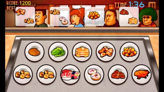 screenshot of Cooking Master version 1.7