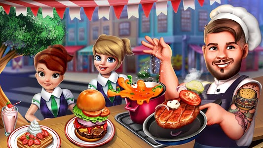 screenshot of Cooking Urban Food - Fast Restaurant Games version 2.1