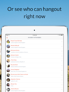 screenshot of Couchsurfing Travel App version Varies with device