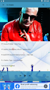 screenshot of DJ Snake ~ Top Song 2020 & Friends version 2.1