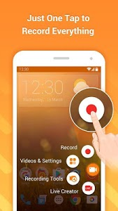 screenshot of DU Recorder – Screen Recorder, Video Editor, Live version DU Recorder