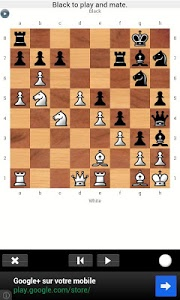 screenshot of Daily Chess Problem version 1.4