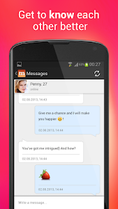 screenshot of Mamba dating – online chat for singles version 3.40