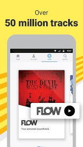 screenshot of Deezer Music Player: Songs, Radio & Podcasts version Varies with device