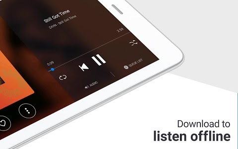 screenshot of Deezer Music & MP3 Player: Songs, Radio & Podcasts version Varies with device