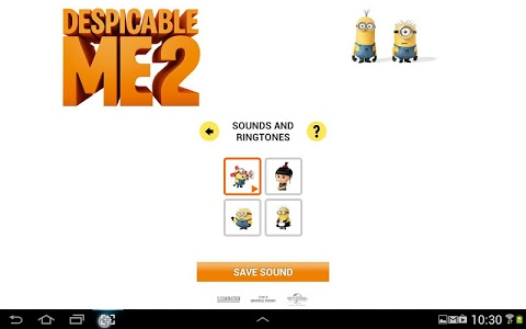 screenshot of Despicable Me 2 version 1.5