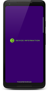 screenshot of Device Information - System & Hardware specs version 1.1.2