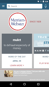 screenshot of Dictionary - Merriam-Webster version 4.3.3