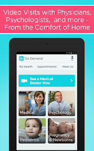 screenshot of Doctor On Demand version 3.9.3