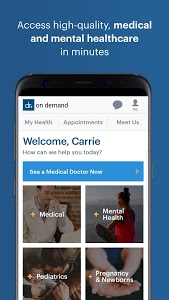 screenshot of Doctor On Demand version 3.17.1