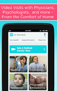 screenshot of Doctor On Demand version 3.9.8