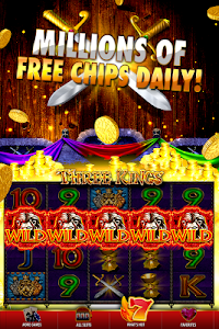 screenshot of DoubleDown Casino Slots Games, Blackjack, Roulette version 4.8.34
