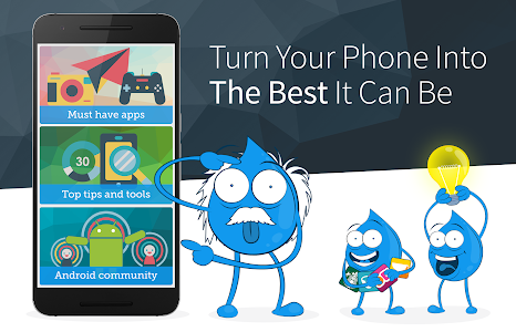 screenshot of Android Updates, Tips & Best Apps - Drippler version Varies with device