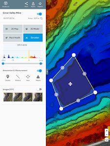 screenshot of DroneDeploy - Mapping for DJI version 3.8.0