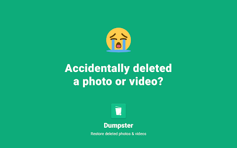 screenshot of Restore Deleted Photos by Dumpster version 2.33.354.7bf68