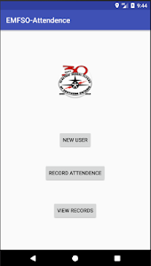 screenshot of EMFSO Attendance Recorder version Varies with device