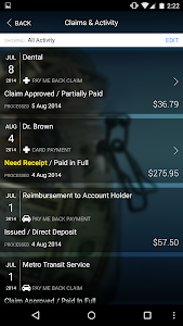 screenshot of EZ Receipts version 3.26.1.0006