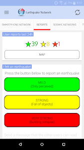 screenshot of 🚨 Earthquake Network - Realtime alerts version 9.1.13
