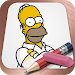 Easy Draw: Homers Family