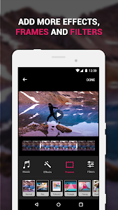 screenshot of ?Efectum – Slow Motion, Reverse Cam, Fast Video version 1.10