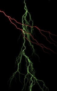 screenshot of Electric Screen Live Wallpaper version 1.9.1