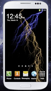 screenshot of Electric Screen Live Wallpaper version 2.1.1