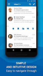 screenshot of Email App for Any Mail version Varies with device