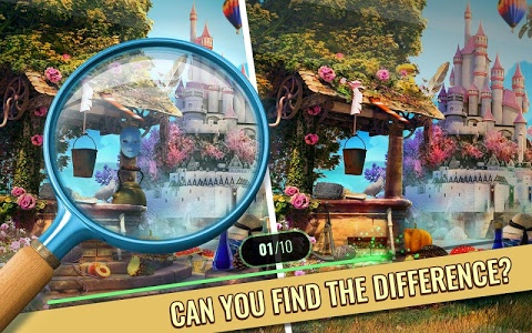 screenshot of Enchanted Castle Find the Difference Games version 2.7
