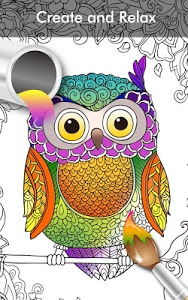screenshot of Coloring Book Enchanted Forest version 2.1