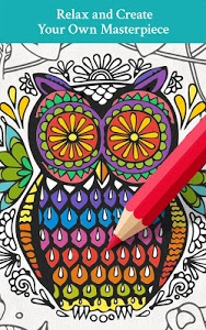 screenshot of Enchanted Forest Coloring Book version 1.5