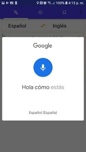 screenshot of English Spanish Translator Free Voice version 2.0