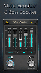 screenshot of Equalizer - Music Bass Booster version 4.0