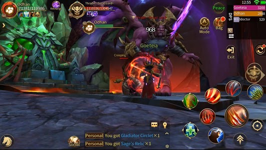 screenshot of Era of Legends - World of dragon magic in MMORPG version 3.0.0.0