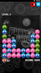 screenshot of FUNNY FACES PUZZLE GAME (FREE) version 1.0