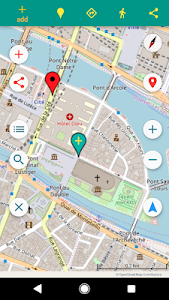 screenshot of GPS Maps Full Function version 1.08.2