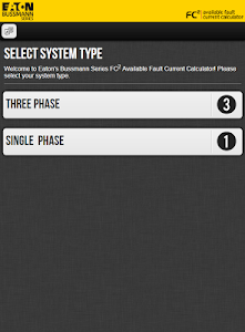 screenshot of Fault Current Calculator version 4.1.3
